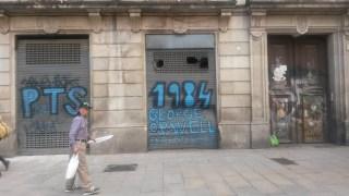 George Orwell jest tu bardzo popularny. Katalończycy pamiętają, że walczył po ich stronie w wojnie domowej.