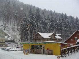 Międzygórze zimą