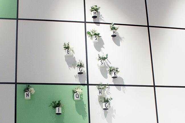 design letters hanging garden ambiente