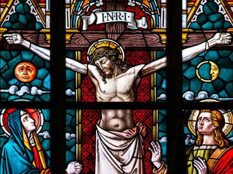 crucifix illustration