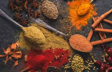 assorted cooking spices