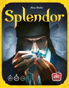 Splendor board game box art