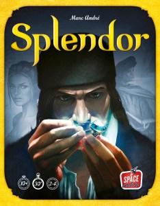 Splendor board game box art