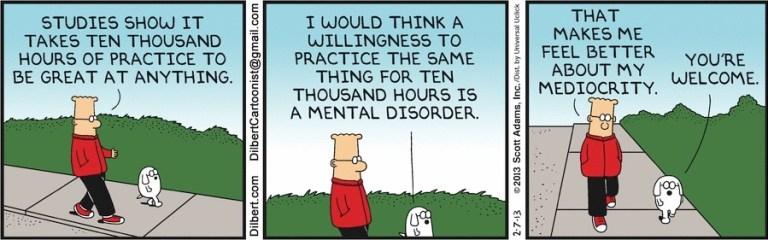 Dilbert cartoon, 2/7/2013. Scott Adams Inc.
