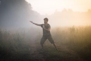 багуа чжан в тумане