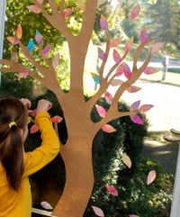Autumn Window Display - Inner Child Fun