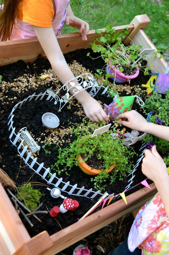 DIYProjekt fr Kinder Mini Garten  EXPLI Blog