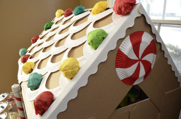 Cardboard Gingerbread House Life Size Inner Child Fun