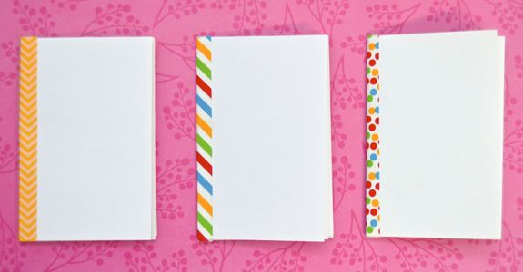 How to Make a Mini Sketchbook from a Sheet of Paper EASY  Inner Child Fun