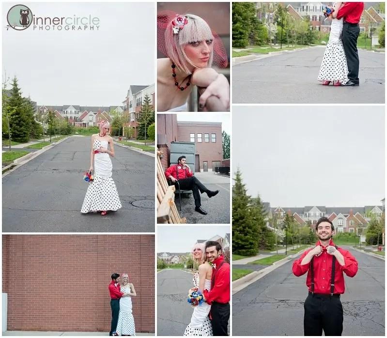 StyleSESSION0303 Scott Pilgrim Wedding - Styled Shoot