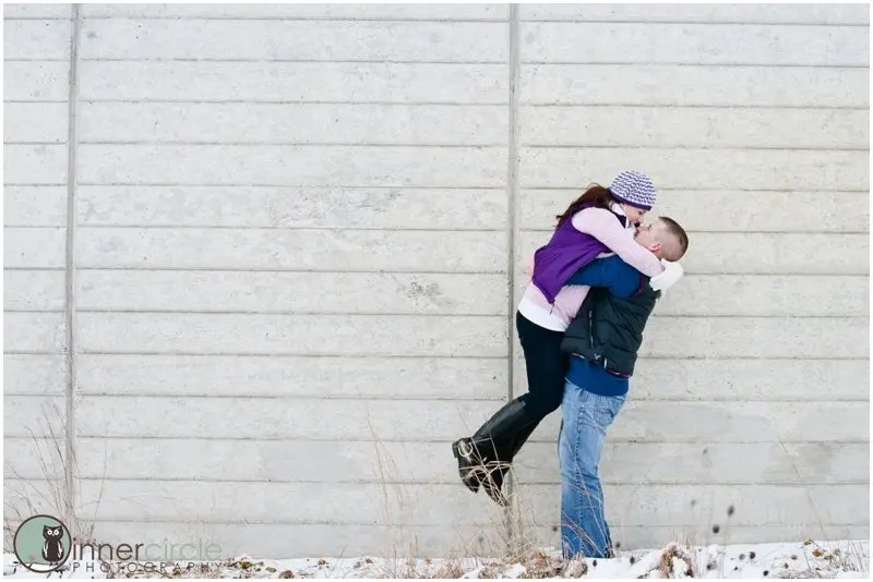 seantheresaENG067 Sean and Theresa ENGAGED! Winter Michigan Engagement