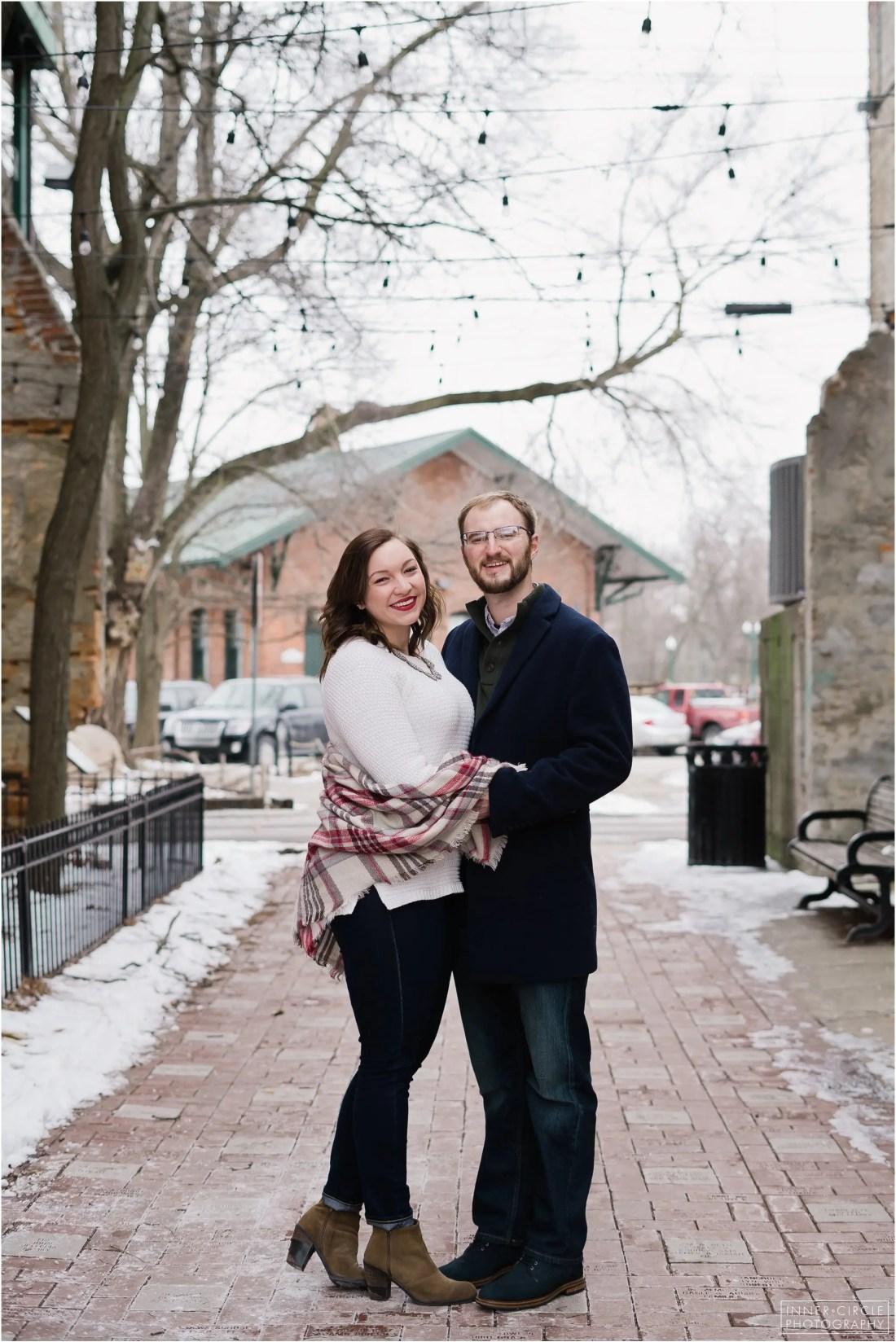 lukelauren_ENGAGED_InnerCirclePhoto_002 Luke + Lauren :: Ypsilanti Engagement Session :: 2019