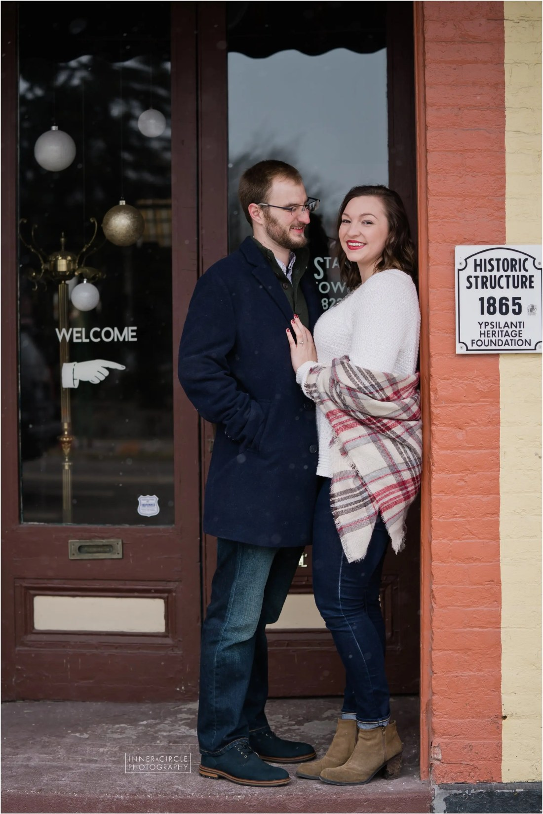 lukelauren_ENGAGED_InnerCirclePhoto_032 Luke + Lauren :: Ypsilanti Engagement Session :: 2019