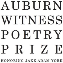 THE 2015 AUBURN WITNESS POETRY PRIZE