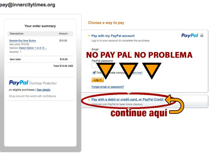 continue pay pal