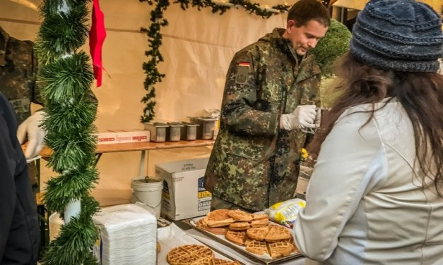 German Armed Forces Command Christkindlmarkt in Reston, Virginia