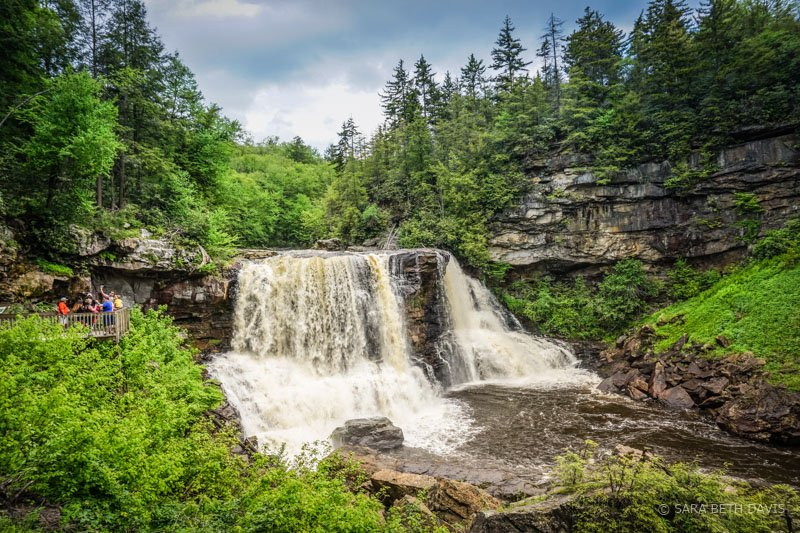 Blackwater Falls State Park in West Virginia