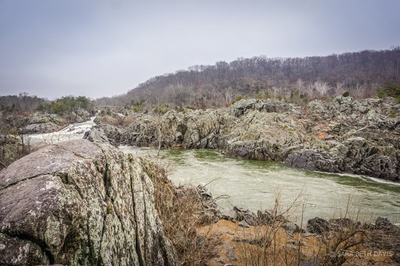 Mather Gorge in Great Falls Park