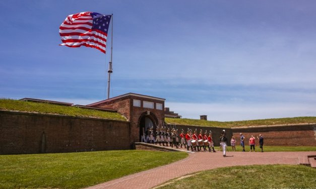 The Old Guard Performs at the Fort McHenry Military Tattoo