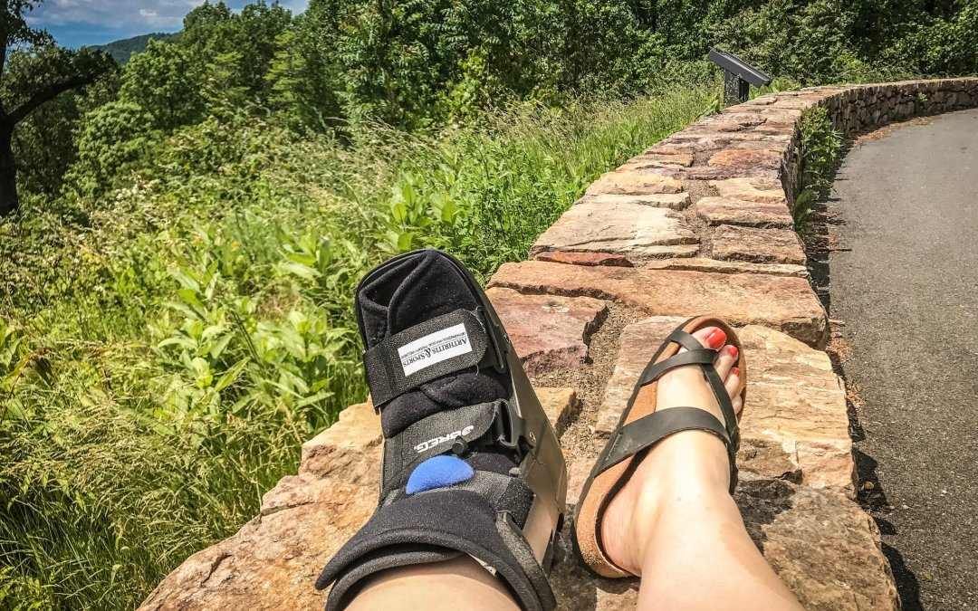 a update on my ankle injury and peroneal tendon surgery inner