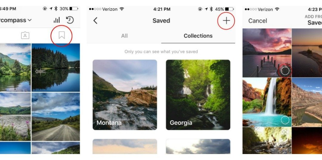 How to use Instagram's Collections Feature