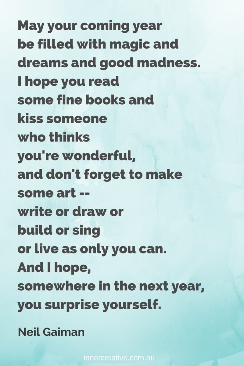 Creative Inspiration Wishes For A Creative New Year