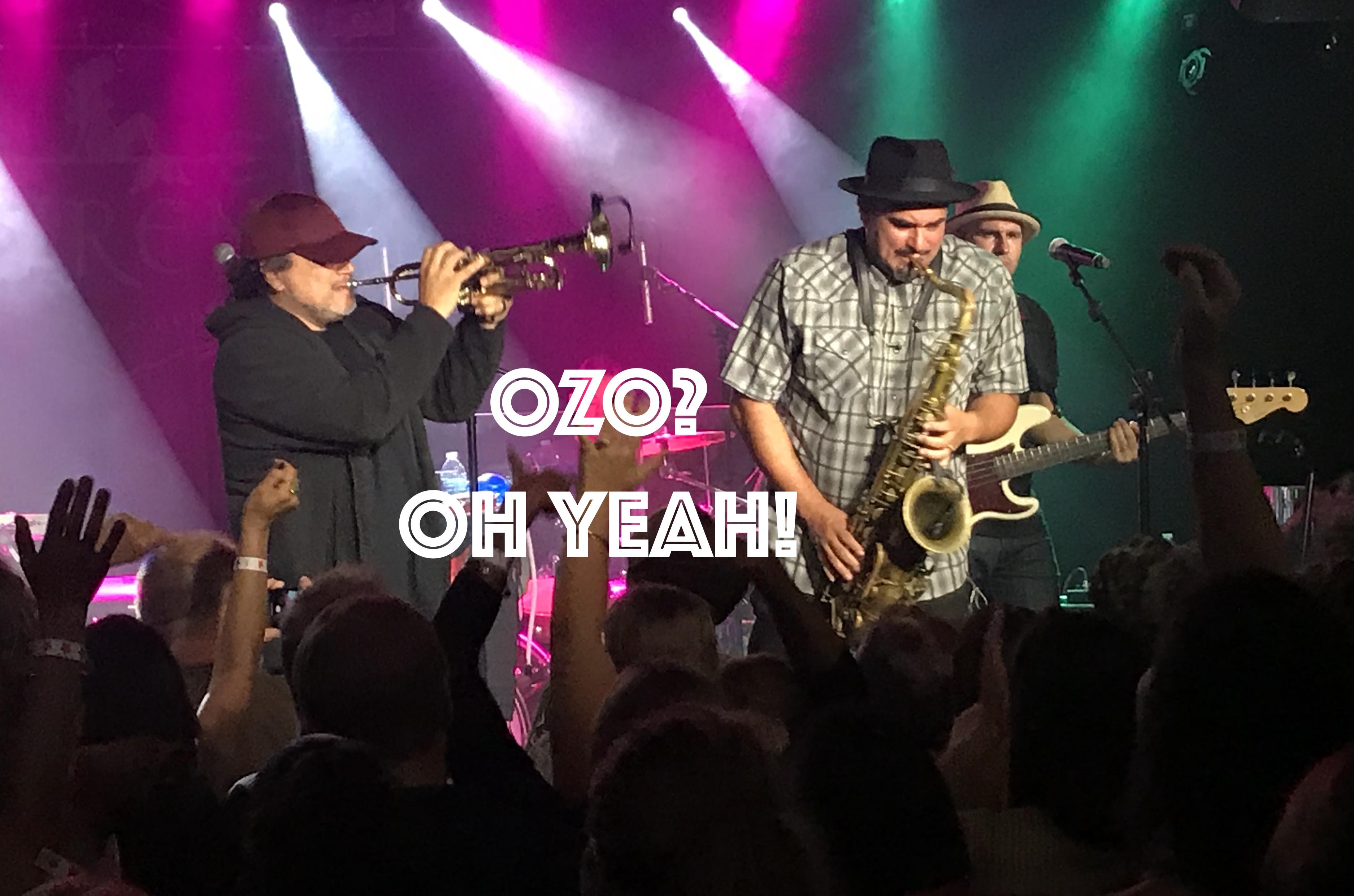 OZO? Oh Yeah! Ozomotli Concert Review, InnerEdgeMusic.com