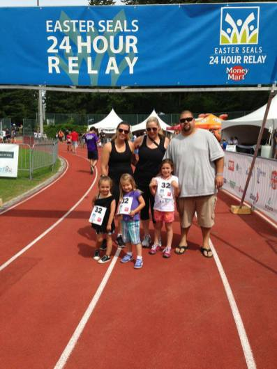 24 Hour Relay - Inner Fit Raises Money for the Easter Seals Kids