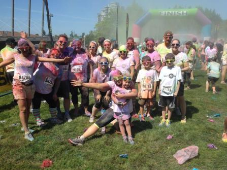 Colour Me Rad 5km