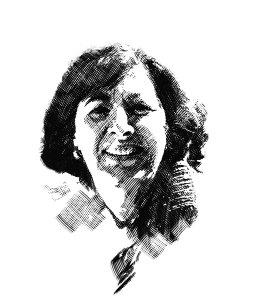 Portrait of author, danielle levy