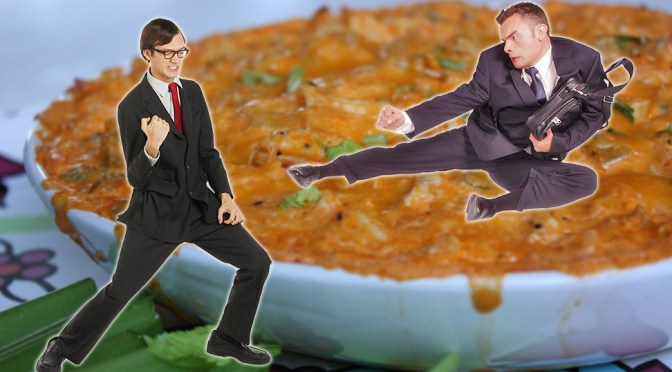 Bare Knuckle Fistfight over who brought the best chicken wing dip at super bowl party Tickets Are On Sale!