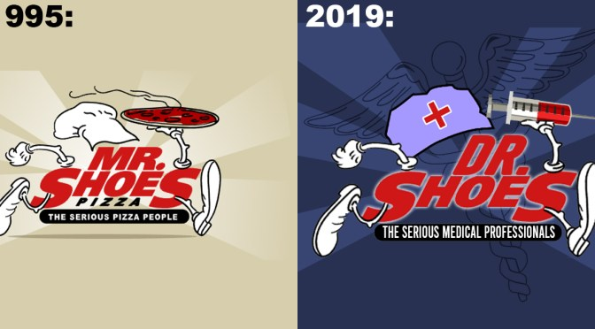Remember MR. Shoes? Well It's DR. Shoes Now