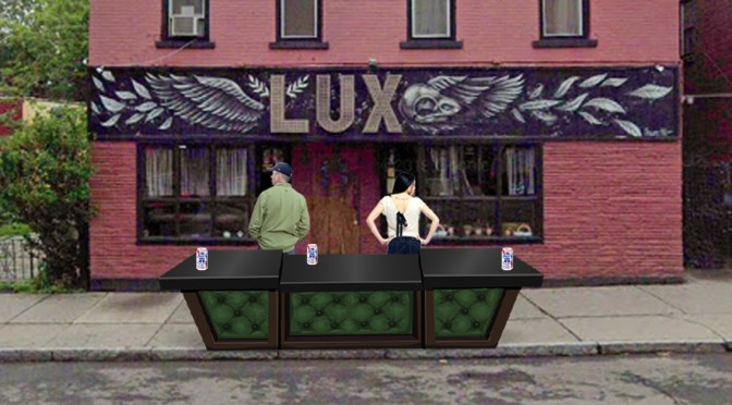 Social Distancing: Lux Bartenders Will Now Ignore You Curbside
