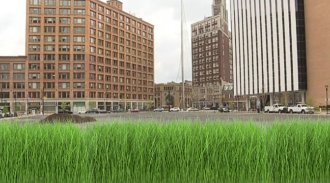 City Officials Look To Rejuvenate Downtown With Big Lawn