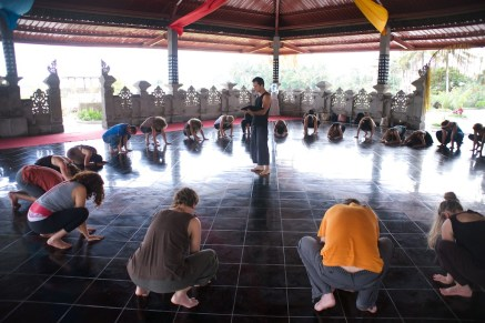 Calling in the Directions, Dancing Freedom Facilitator Training, Bali, 2014, RolfGibbs photo