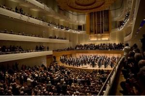 Konzertsaal des KKL in Luzern