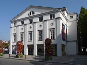 Das Luzerner Theater an der Reuss