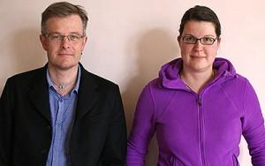 Michael Blatter und Nicole Bättig Meyer