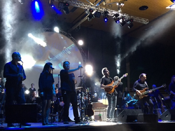 The Pink Floyd Performance in der Stadthalle Sursee
