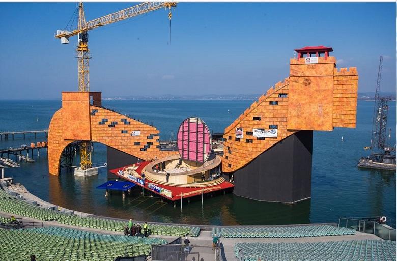 Bregenzer Festspiele 2015 Seebühne: Turandot von Giacomo Puccini