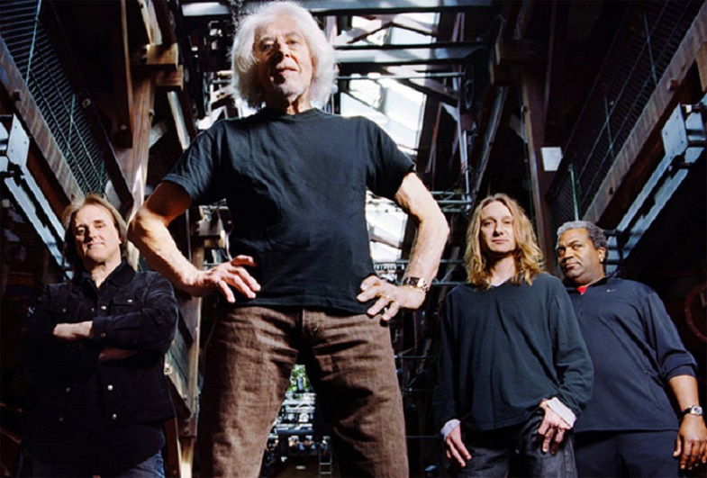 John Mayall mit Band