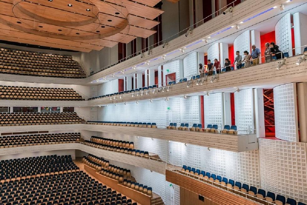 KKL in Luzern Konzertsaal Galerie