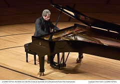 LUCERNE FESTIVAL AM PIANO 2015. REZITAL 4 vom 26. November 2015. Der polnische Pianist Piotr Anderszewski. Copyright: Peter Fischli / LUCERNE FESTIVAL