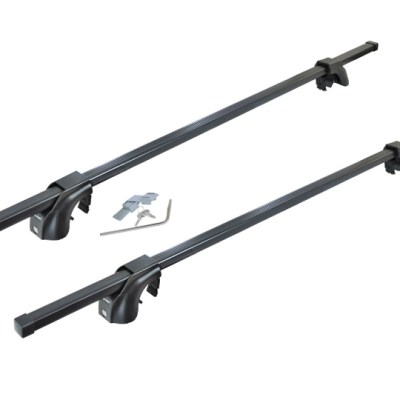 """Malone SteelTop™ Roof Rack - Square Crossbars - Raised, Factory Side Rails - Steel - 50"""", 58"""" and 65"""""""