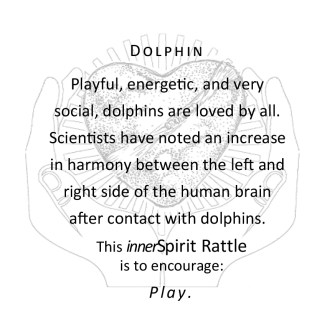 Dolphin innerSpirit Rattles Storycards