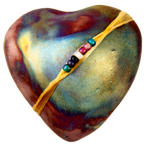 Smooth Heart Raku: Encourage Peace of Mind