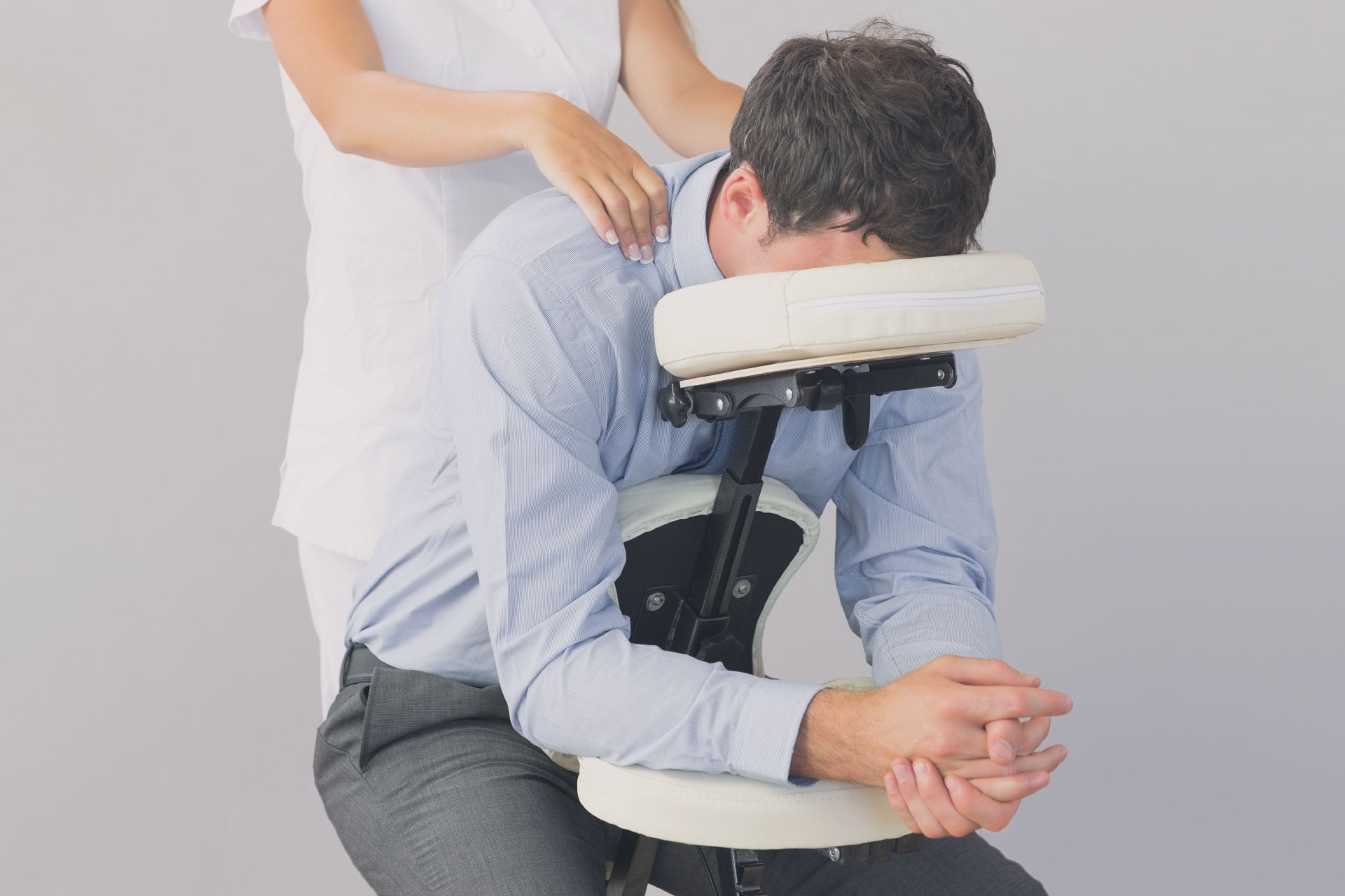 Massage Therapist Chair Professional Massage Therapy Inner Strength Massage