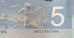 future development five dollar bill serial number.