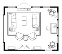 Floorplans That Encourage Intimate Conversation  Inner ...