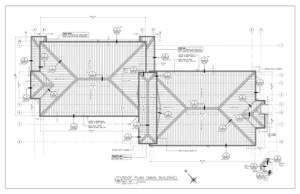 Innerwall Company Shop Drawings - Metal Roofing
